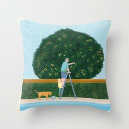 Lovely Afternoon Throw Pillow