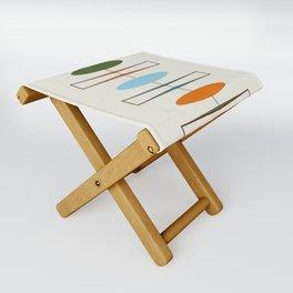 Mid-Century Modern Art 1.2 Folding Stool