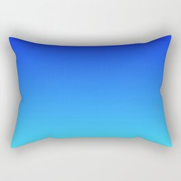 Caribbean Water Gradient Rectangular Pillow