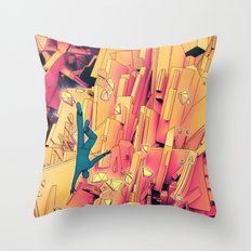 Break Up Throw Pillow