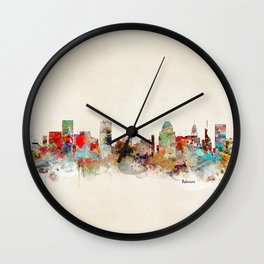 Baltimore maryland Wall Clock