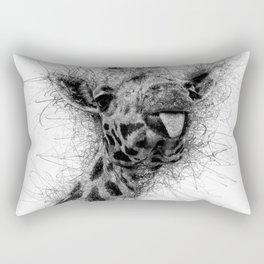 Giraffe line Rectangular Pillow