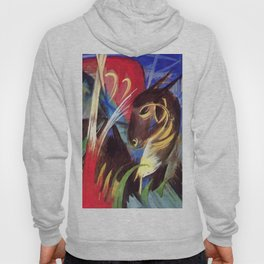 """Franz Marc """"Fabulous Beast I (also known as Composition of Animals I)"""" Hoody"""