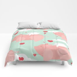 When pigs fly Comforters