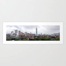 Taipei Art Print