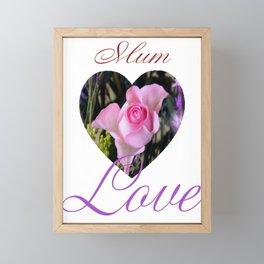 Mum Framed Mini Art Print