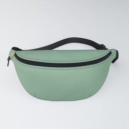 Moss Green in an English Country Garden Fanny Pack