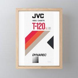 JVC VHS Framed Mini Art Print