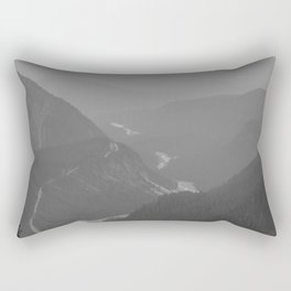 Nisqually River Valley Rectangular Pillow