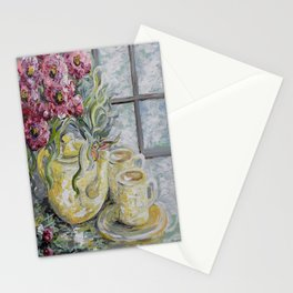 Morning Tea for Two Stationery Cards