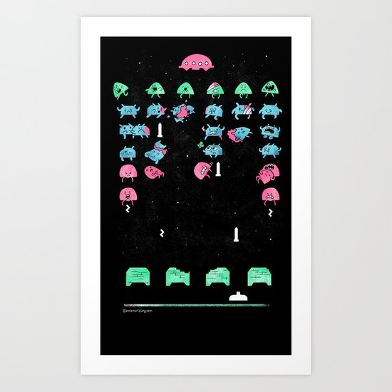 Oh, the humanity!!! Art Print