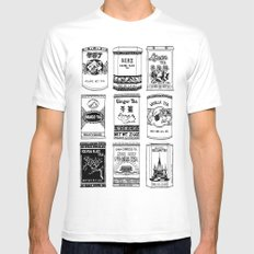 chinese teabox collection White Mens Fitted Tee MEDIUM