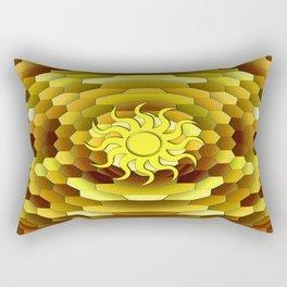 Golden Summer Day Rectangular Pillow