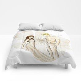 """You destroy me."" Comforters"