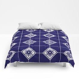 Talavera Mexican Tile – Porcelain Palette Comforters