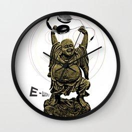 E-World! (The Peace of Buddha) Wall Clock