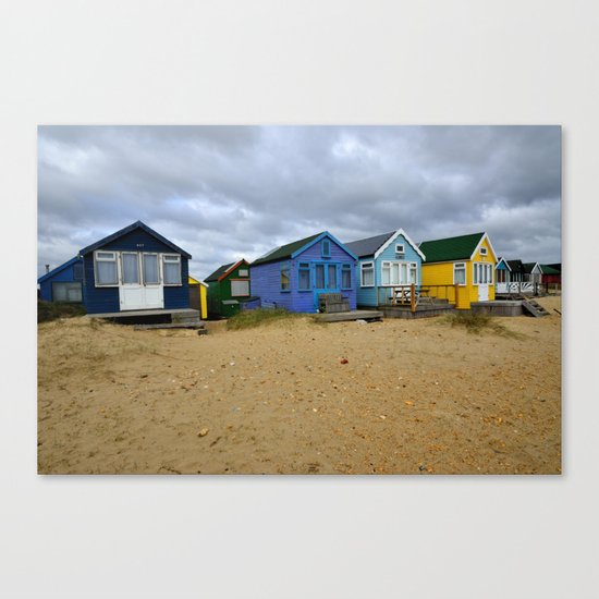 Mudeford Canvas Print