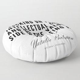 30     | Natalie Portman Quotes | 190721 Floor Pillow