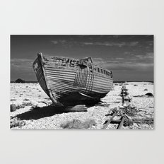 Dungeness Decay Canvas Print