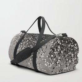 Silver Gray Glitter #1 #shiny #decor #art #society6 Sporttaschen
