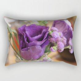 Purple Rose of Cairo Rectangular Pillow