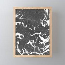 Suminagashi Series (Blood) 血液 Framed Mini Art Print