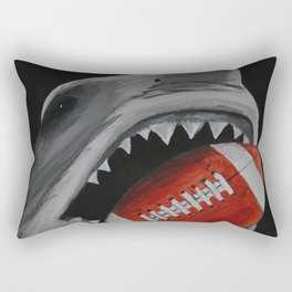 Landshark Football Rectangular Pillow