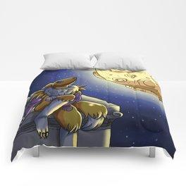 Moonlit Vixen Comforters