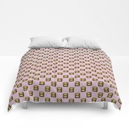 Rose quartz Elegance metal pattern Comforters