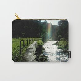 No pot of Gold but a brilliant Rainbow Carry-All Pouch