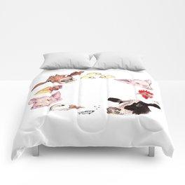 Love All Animals Comforters