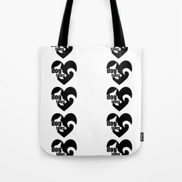 Dog(Tales)'s Tooth Large Tote Bag