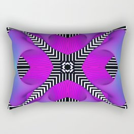 Techno Art Rectangular Pillow