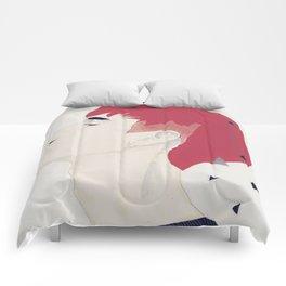 Freckled boy Comforters