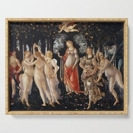 Sandro Botticelli - Spring (La Primavera) Serving Tray