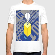 The case of The Light Switch. Mens Fitted Tee White MEDIUM