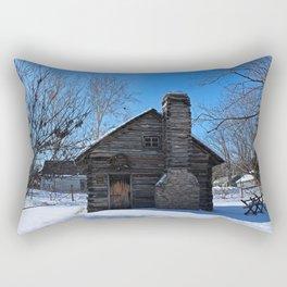 Peter Navarre Cabin I Rectangular Pillow