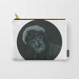 The Wolf Man on vinyl record print Carry-All Pouch