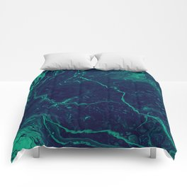 Ebb & Flow - An Abstract Piece Comforters