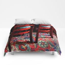 Tres Amigos Comforters