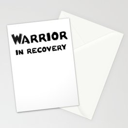 Warrior in Recovery Stationery Cards
