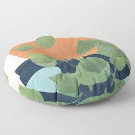 Nature Geometry IX Floor Pillow