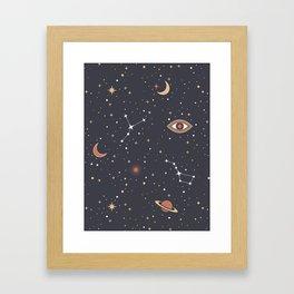 Mystical Galaxy Framed Art Print
