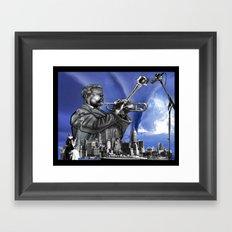 DIZZYWORLD Framed Art Print