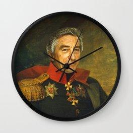 Robert De Niro - replaceface Wall Clock