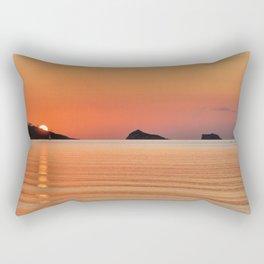 Thatcher Rock Sunrise  Rectangular Pillow
