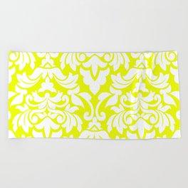 Lemon Fancy Beach Towel