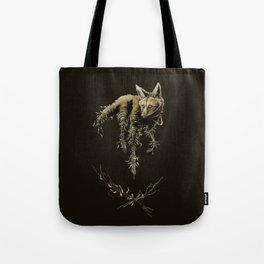 Amber Maned Wolf Tote Bag