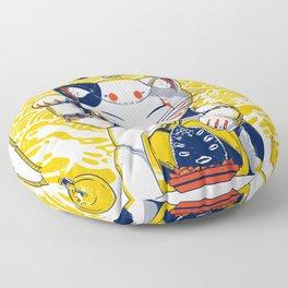 Mecha Manekineko Floor Pillow