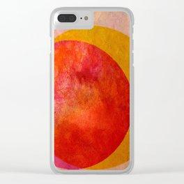 Taste of Citrus Clear iPhone Case